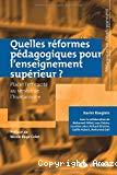 Quelles réformes pédagogiques pour l'enseignement supérieur ? : placer l'efficacité au service de l'humanisme