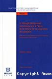 Le triangle décisionnel communautaire à l'aune de la théorie de la séparation des pouvoirs : recherches sur la distribution des pouvoirs législatif et exécutif dans la communauté