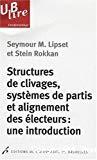 Structures de clivages, systèmes de partis et alignement des électeurs : une introduction