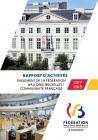 Rapport d'activités du Parlement de la Fédération Wallonie Bruxelles / Communauté française 2017-2018